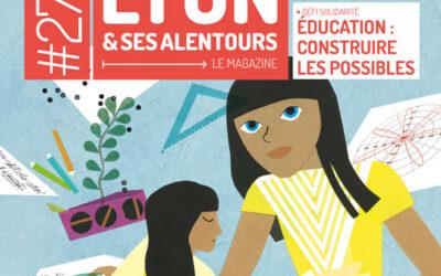 Un dossier sur l'Ouvre Porte dans le magazine Agir à Lyon